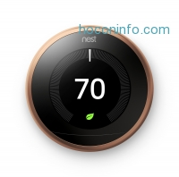 ihocon: Nest Copper Learning 3rd Generation Thermostat with Built-In WiFi