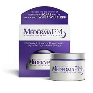 ihocon: Mederma PM Intensive Overnight Scar Cream - Works with Skin's Nighttime Regenerative Activity, 1.7 ounce  強效去疤夜霜