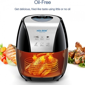 ihocon: HOLSEM 氣炸鍋 Air Fryer 3.4 QT