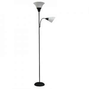 ihocon: Torchiere with Task Light Floor Lamp 立燈