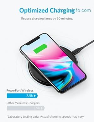 ihocon: Anker PowerPort Wireless 5 Pad, Qi-Certified無線充電板