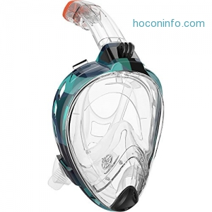 ihocon: OutdoorMaster 180°Snorkel Mask 全罩式浮潛面罩