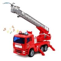 ihocon: yoptote Fire Truck 聲光噴水消防車