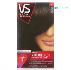 ihocon: Vidal Sassoon Pro Series Hair Color, 4 Dark Brown, 1 Kit 沙宣染髮劑