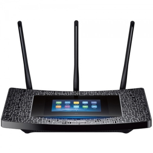 ihocon: TP-Link Touch P5 Dual-Band Wireless-AC1900 Touch Screen Gigabit Router 雙頻無線觸控路由器