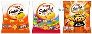 ihocon: Pepperidge Farm, Goldfish, Crackers, 37.6 oz, Variety Pack, Box, Snack Packs, 40-count