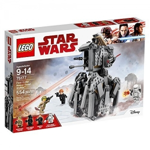 ihocon: LEGO Star Wars Episode VIII First Order Heavy Scout Walker 75177 Building Kit (554 Piece)