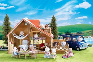 ihocon: Calico Critters Lakeside Lodge Gift Set