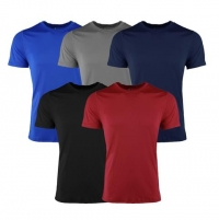ihocon: Reebok Men's Performance S/S Crew T-Shirt 5-Pack
