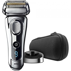 ihocon: Braun Series 9 9293s Men's Electric Shaver / Electric Razor, Wet & Dry, Travel Case with Charging Stand 乾濕兩用電動刮鬍刀