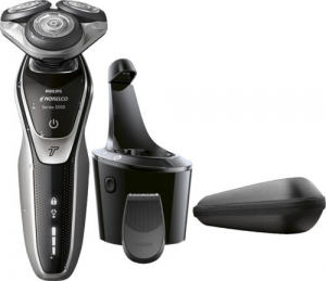 ihocon: Philips Norelco 5700 Clean & Charge Wet/Dry Electric Shaver 乾濕兩用刮鬍刀
