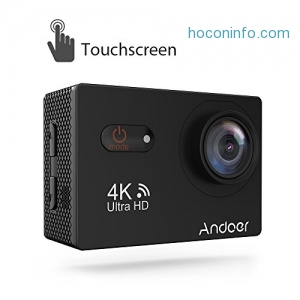 ihocon: Andoer 4K Ultra HD 16-Megapixel WiFi Touchscreen Action Camera 運動相機