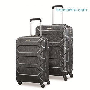 ihocon: Samsonite Magnitude Lx 2 Piece Nested Hardside Set (20/24), Black, Only at Amazon