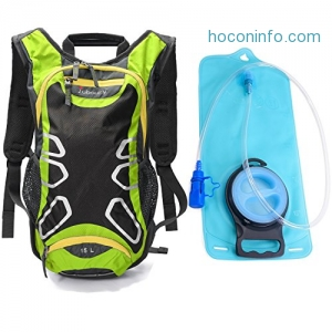 ihocon: Juboury Hydration Backpack with 2L Water Bladder Reservoirs水袋背包