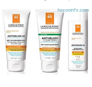 ihocon: La Roche-Posay Anthelios 60 Body and Face Sunscreen SPF 60 Melt-In Sunscreen Milk with Antioxidants, 5 Fl. Oz.