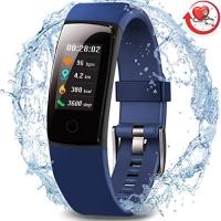 ihocon: MorePro Waterproof Health Tracker心率, 血壓監控智能運動手環/手錶