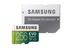 ihocon: Samsung MB-ME256GA/AM 256GB UHS-I / U3 600x microSDXC Memory Card with Adapter