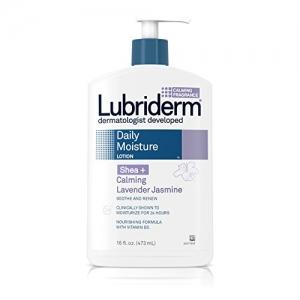 ihocon: Lubriderm Daily Moisture Dry Skin Lotion, Shea + Calming Lavender Jasmine, 16 Fl. Oz. (Pack of 3)
