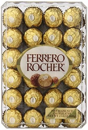 ihocon: Ferrero Rocher, Hazlenut, 48 Count, 21.2oz 金莎巧克力