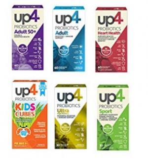 ihocon: up4 Kids Cubes Probiotic Supplement | Digestive + Immune Support | Vitamin D, 1 Billion CFUs 兒童益生菌(無糖, 無防腐劑,無人工香精) 40粒