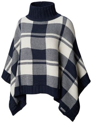 ihocon: Women's Be Cozy™ Sweater Poncho 女士斗篷