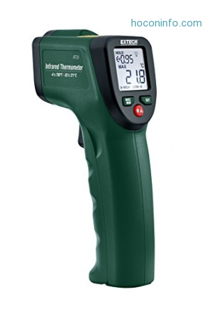 ihocon: Extech IRT25 Infrared Thermometer 12: 1 with Audible Alarm 紅外線測温器