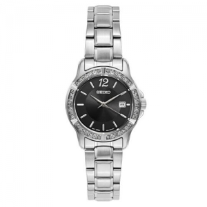 ihocon: Seiko Crystal Dress Women's Quartz Watch SUR719