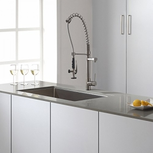 ihocon: Kraus KPF-1602SS Kitchen Faucet Commercial Style廚房水龍頭