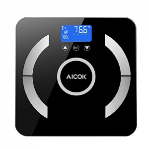 ihocon: Aicok Weight Scale Body Fat Scale體脂體重計