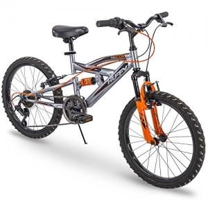 ihocon: Huffy Kids Bike Boys, Valcon 20 inch, 6-Speed, Charcoal Gray 6段速兒童自行車