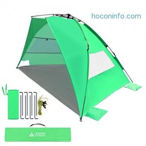 ihocon: Leader Accessories EasyUp Beach Tent海灘遮陽棚-可快速搭建