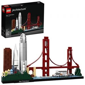 ihocon: LEGO Architecture樂高建築系列Skyline Collection 21043 San Francisco Building Kit (629 Piece) 舊金山天際線