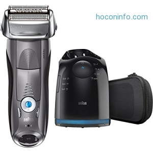 ihocon: Braun Series 7 Men's Electric Foil Shaver / Electric Razor, with Clean & Charge Station 男士電動刮鬍刀