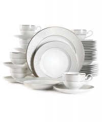 ihocon: Mikasa Parchment 40-Pc. Service for 8 餐盤組