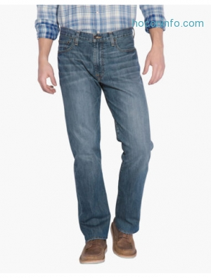 ihocon: Lucky Brand Mens 181 Relaxed Straight男士牛仔褲