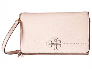 ihocon: Tory Burch McGraw Flat Wallet Crossbody 平底錢包斜挎包