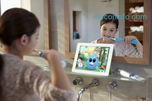 ihocon: Philips Sonicare for Kids Bluetooth Connected Rechargeable Electric Toothbrush, HX6321/02藍芽兒童電動牙刷