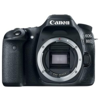 ihocon: Canon EOS 80D 24.2MP Full HD 1080p Digital SLR Camera Body (Black)