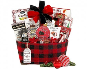 ihocon: Happy Holidays Gift Basket With Award Winning Brands and Savory Treats 禮品籃