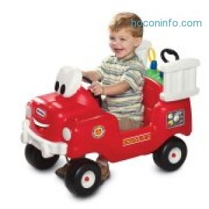 ihocon: Little Tikes Spray & Rescue Fire Truck Foot to Floor Ride On