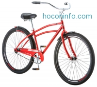 ihocon: 29 Schwinn Men's Stockton Cruiser Bike, Red