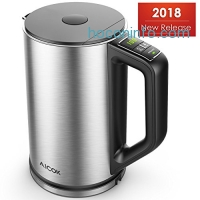 ihocon: Aicok Double Wall Stainless Steel Electric Kettle雙層不銹鋼電熱水瓶