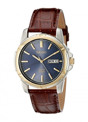 ihocon: Seiko Men's SNE102 Solar Watch 精工太陽能男錶