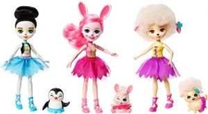 ihocon: Enchantimals Ballet Cuties Doll 3-pack
