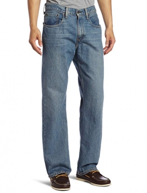 ihocon: Levi's Men's 569 Loose Straight-Leg Jean男士牛仔褲