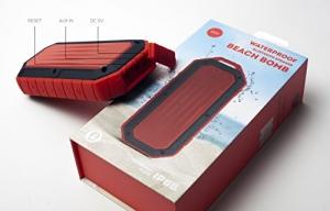 ihocon: iJoy Beach Bomb IP66 Waterproof Shockproof Portable Bluetooth Speaker - Flame 防水防震便攜藍牙音箱