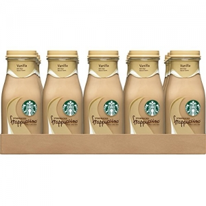 ihocon: Starbucks Frappuccino, Vanilla, 9.5 Ounce Glass Bottles (15 Count)