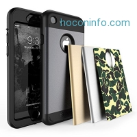 ihocon: TOTU iPhone 7 Plus Case with 4 Interchangeable Covers