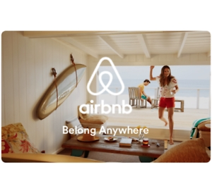 ihocon: $150 Airbnb Gift Card 只賣 $135 - Fast Email delivery