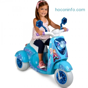 ihocon: 6V Disney Frozen 3-Wheel Scooter Ride On - Walmart.com